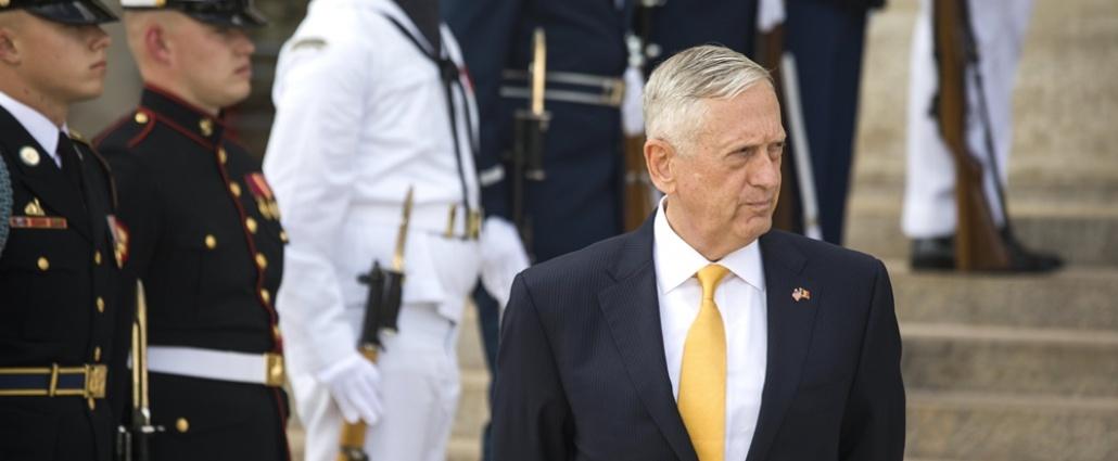 Mattis dice que EEUU apuesta por la solución diplomática con Corea del Norte