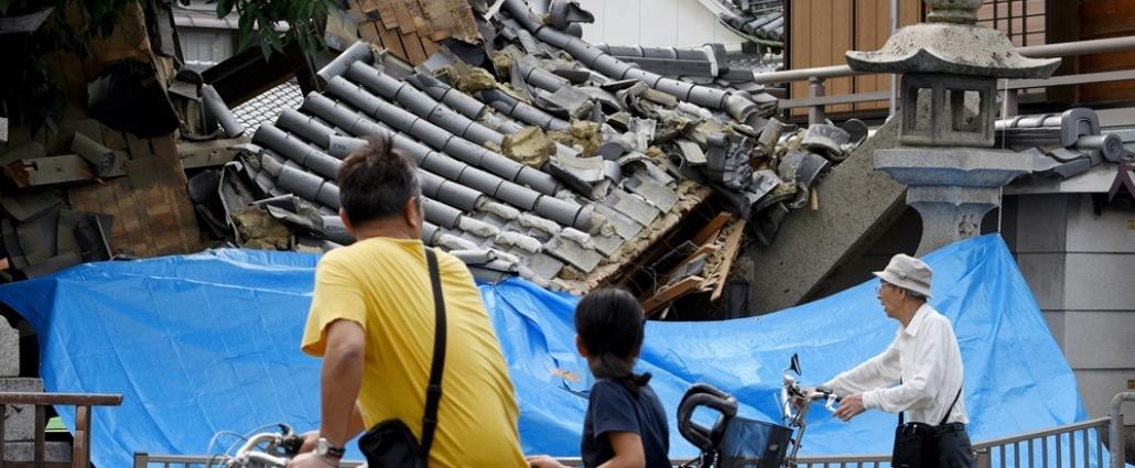 Japón se mantiene en alerta tras potente terremoto en Osaka con 5 muertos