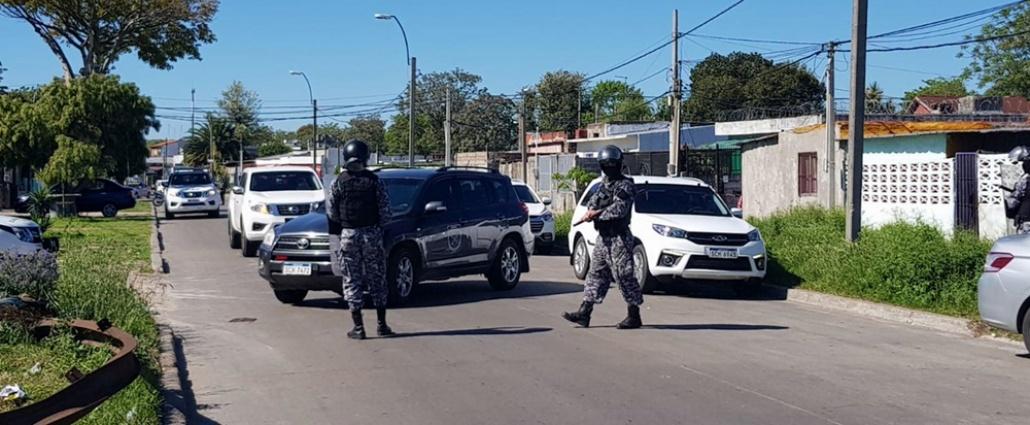 Un total de 160 personas a la Justicia tras operativos Mirador de la Policía