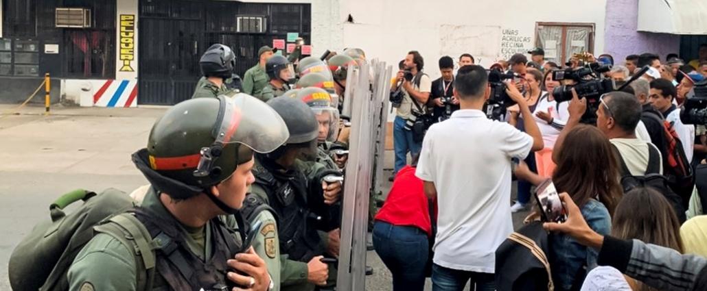 Cuatro miembros de la Guardia Nacional de Venezuela desertan en Cúcuta