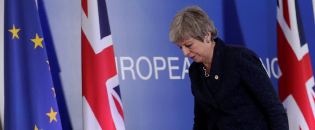 """May conseguir�a apoyo a su acuerdo """"brexit"""" si promete dimitir, seg�n la BBC"""