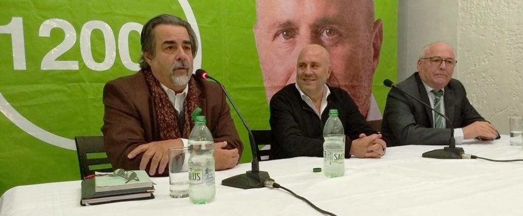 La Lista 12.000 del Partido de la Gente propuso a Gustavo Zub�a como precandidato