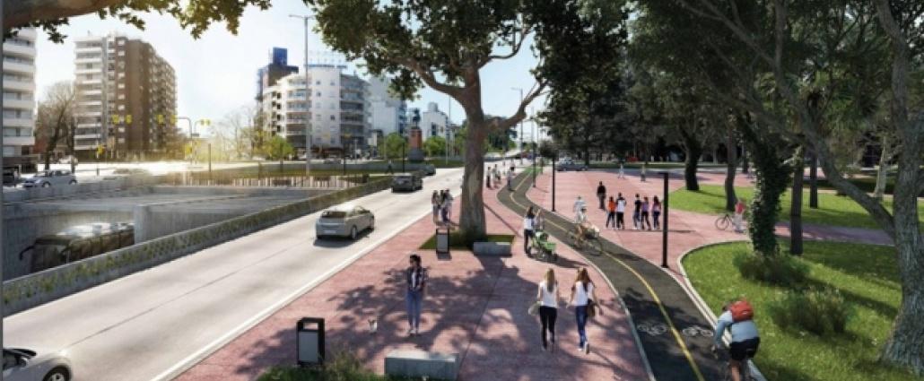 Inician trabajos para la construcción del túnel en Avenida Italia