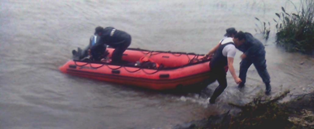 Apareci� el cuerpo del hombre, que fue arrastrado por la corriente del r�o Santa Luc�a en Canelones