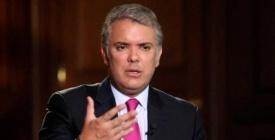 """El presidente de Colombia, Iván Duque, no descarta decretar """"estado de conmoción interior"""" ante alteración del orden público"""