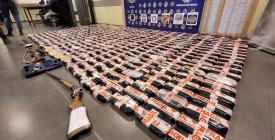 Declaran los 17 detenidos tras incautación de más de 400 kilos de pasta base