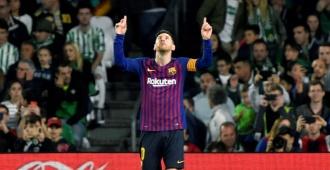 Messi líder imparable