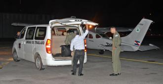 Fuerza Aérea realizó un traslado de urgencia de un receptor de órganos