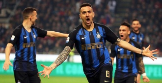 Vecino y Lautaro dan el triunfo al Inter en un derbi vibrante