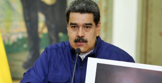 """Maduro anuncia una reestructuración del Gobierno para """"blindar"""" a Venezuela"""