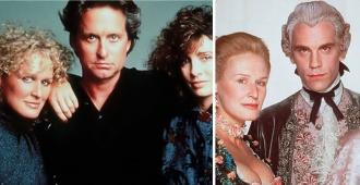 """Dos únicas funciones: Cine Arte proyecta """"Atracción Fatal"""" y """"Relaciones Peligrosas"""" -en copia restaurada- dos éxitos de Glenn Close"""