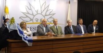 Con la presencia del presidente Tabaré Vázquez se conmemoró el décimo aniversario de la inauguración de la Torre Ejecutiva