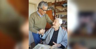 Con un homenaje en la Huella de Seregni fueron despedidos los restos de Victorio Casartelli, presidente del PCU
