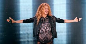 """Shakira y Anuel AA presentaron la canción """"Me gusta"""""""
