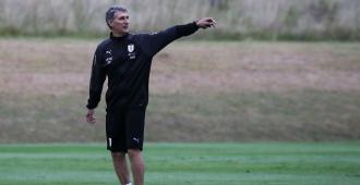 Uruguay realizó su último entrenamiento antes del Preolímpico de Colombia