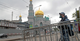 Rusia supera los 350.000 casos de la COVID-19