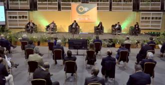 Con la presencia del presidente Luis Lacalle Pou, comenzaron las actividades en la Expo Prado 2020