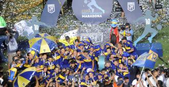 Boca Juniors derrotó a Banfield por penales y se coronó bicampeón