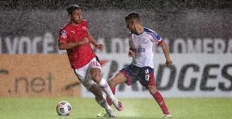 Bahía e Independiente igualan en la Sudamericana