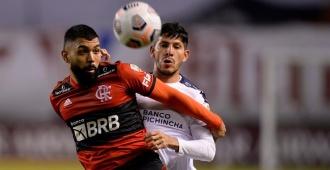 Flamengo gana con doblete de Gabigol y se afirma en la cima del grupo G