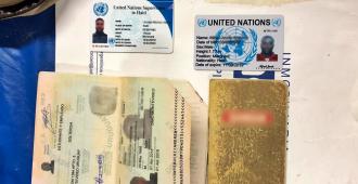 Interpol detuvo a un extranjero que estafaba haciéndose pasar por funcionario de ONU