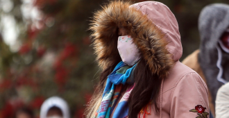 Una ola de frío afectará a gran parte del país a partir de este miércoles, advirtió Inumet