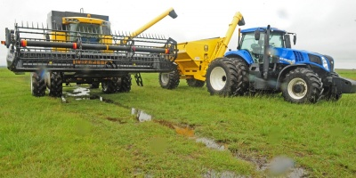 Preocupación por las intensas lluvias que afectan a la cuenca arrocera