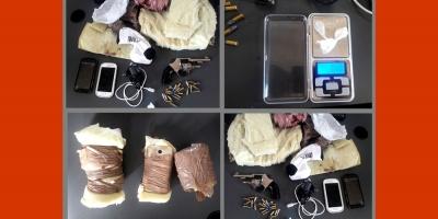 Incautan arma, drogas y celulares en cárcel de Canelones