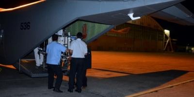 Fuerza Aérea realiza un nuevo traslado sanitario