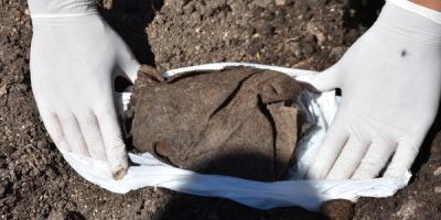 Encontraron restos óseos en Flores