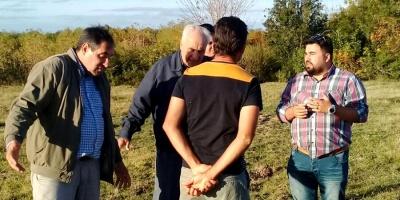 Ministro de Obras Públicas visita zonas inundables de San José