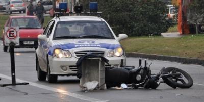 Canelones: En 2017, el 66% de la víctimas de siniestros de tránsito fueron motociclistas