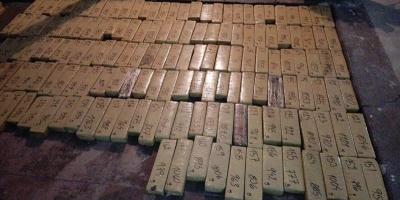 Incautan 351 kilos de marihuana valorados en 500.000 dólares