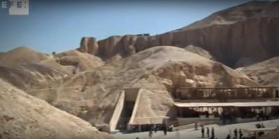 """Egipto abre enterramiento """"más grande"""" descubierto en necrópolis de Luxor"""
