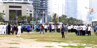 Al menos tres policías muertos en la octava explosión del día en Sri Lanka