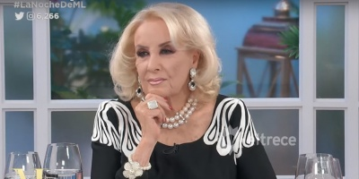 La diva argentina Mirtha Legrand se recupera tras ser operada