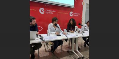 Física española promueve en Uruguay dar más visibilidad a mujeres en ciencia