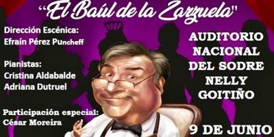 """Nueva temporada de """"El Baúl de la Zarzuela"""" este domingo 9 en el Auditorio Nelly Goitiño del Sodre"""