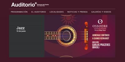 Jazz: homenaje sinfónico de la OSSODRE al guitarrista belga  Django Reinhardt en el Auditorio Adela Reta