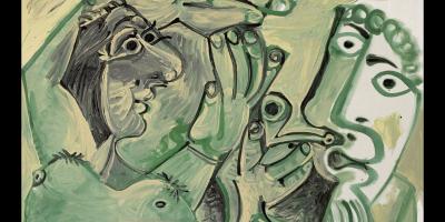 """La composición erótica de Picasso """"Hombre y Mujer"""" se vende por 14 millones"""