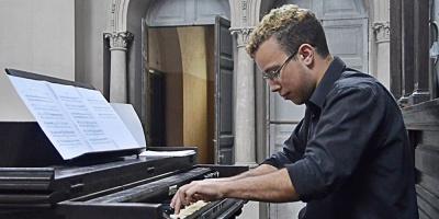 Virginal: Concierto de Daniel Francis en el marco del  Festival Internacional de Órgano del Uruguay