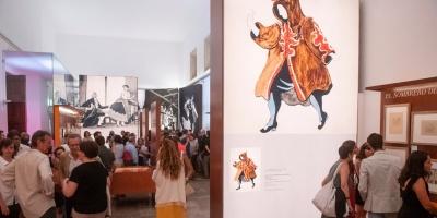 """Una muestra en la Alhambra recrea el proceso creativo de """"El sombrero de tres picos"""""""