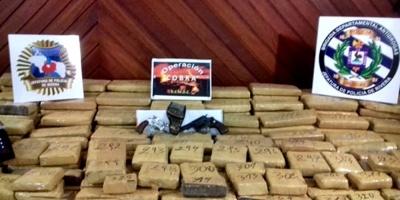 Rivera: fueron incautados más de 220 kilogramos de marihuana