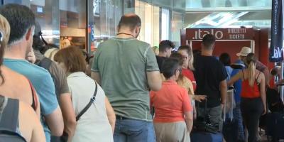Italia investiga un presunto sabotaje en la red de trenes que provocó el caos