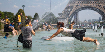 Francia vive una ola de calor extremo con temperaturas récord
