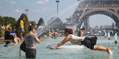 Una ola de calor sin precedentes golpea a Europa