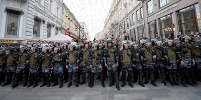 ONU considera que Policía rusa cometió abusos contra manifestantes opositores