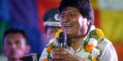 Evo Morales dice que respetará los resultados de las elecciones en Bolivia