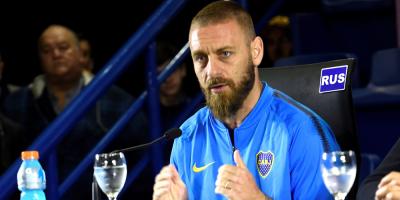 """De Rossi continúa su puesta a punto y dice sentir """"pasión"""" por Boca Juniors"""
