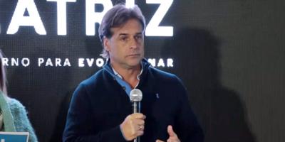 Lacalle aceptó la propuesta de diálogo de Martínez, pero si se concreta en el marco de un debate